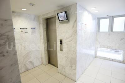 エレベーターで楽々