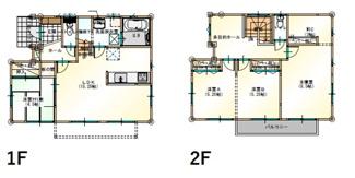 プラン例 建物価格1552万 建物面積103.58㎡