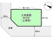 岸和田市小松里町 土地の画像
