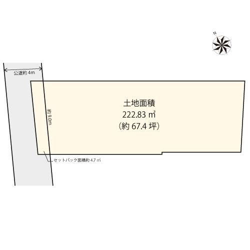【土地図】世田谷区野沢1丁目