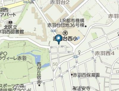 【地図】セゾンライズ