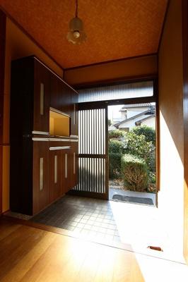 【玄関】温品3丁目戸建て