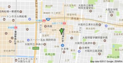 【地図】クレール谷町