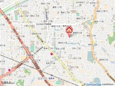 【地図】グラフティ桑原・
