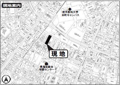【地図】アーバンコンフォート本町通