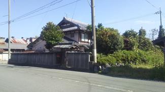 【外観】新旭町新庄(古屋付き)土地
