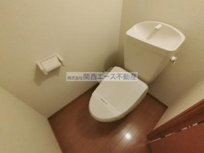 【トイレ】レオパレスソレーユS O