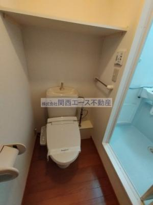 【トイレ】レオパレスラックコート