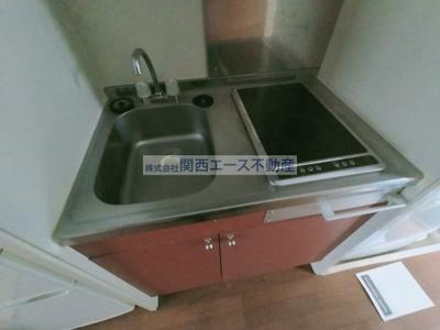 【キッチン】レオパレス望