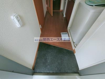 【玄関】レオパレス望