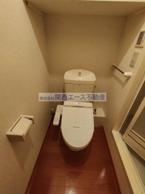 【トイレ】レオパレス赤井ウエスト