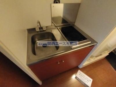 【キッチン】レオパレス赤井ウエスト