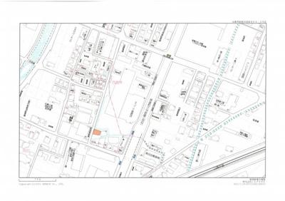 【地図】岡田月極駐車場