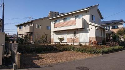【外観】つくばみらい市陽光台 北東角地 オール電化 長期優良住宅