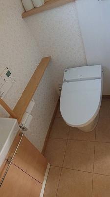 1階はタンクレストイレ仕様