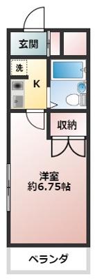 【洋室】シティイン田無Ⅰ