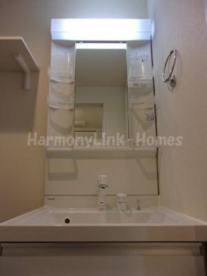 ハーモニーテラス栗原の独立洗面台あり、毎朝おしゃれに忙しい女性の方におすすめです☆