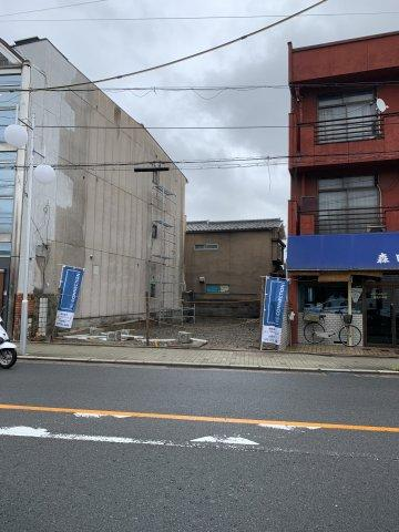 【前面道路含む現地写真】京都市南区東九条中御霊町 売地