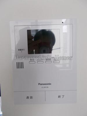 グレイシアのTV付インターホン☆(別部屋参考写真)