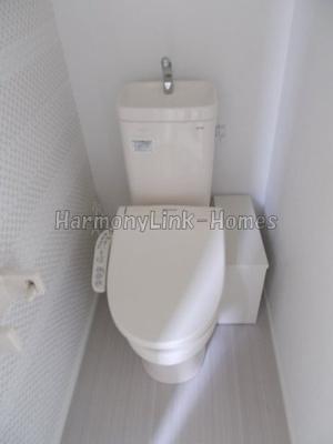 グレイシアのトイレもきれいです☆(別部屋参考写真)