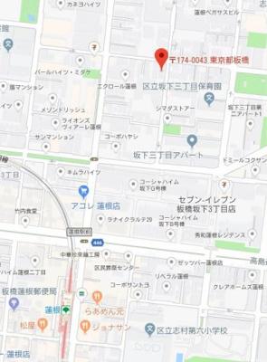 【地図】グランパーク東京ノース