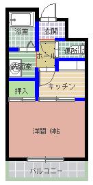 【間取り】《高稼働!12.2%!》水戸市松が丘2丁目一棟マンション