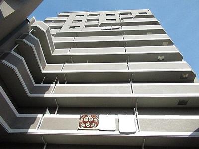 SRC造の12階建、総戸数88戸のマンションです。