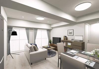 令和3年4月リノベーション完了予定、清潔感あふれる室内。
