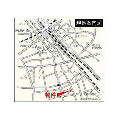 【地図】ラ・ソレイユさいたま