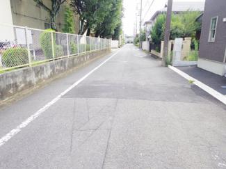 幅員6m 前面道路