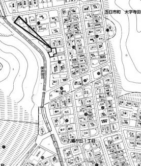【区画図】佐伯区八幡が丘2丁目