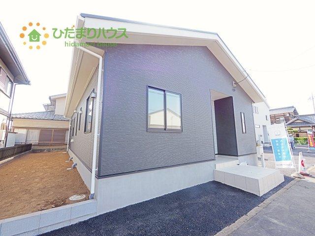 【外観】土浦市乙戸南第4 新築戸建 1号棟