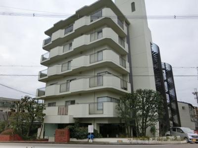 【外観】ルミエール一乗寺 4階 南向き【平成25年改装済】
