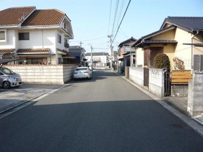 【前面道路含む現地写真】直方市新知町