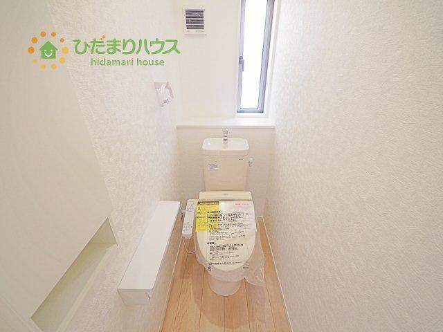【トイレ】土浦市乙戸南第4 新築戸建 2号棟