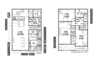 鴻巣市原馬室の新築戸建 全6区画 2号棟【No.40314】