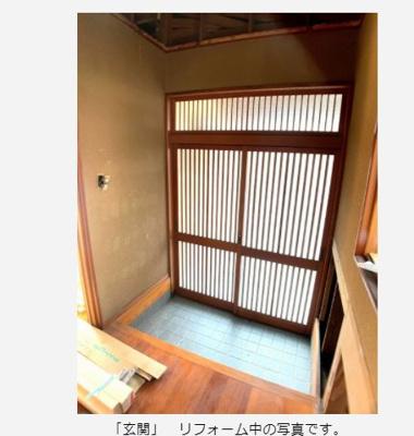 【玄関】倉敷市東塚 中古住宅