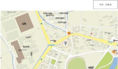 【地図】中間市大字垣生