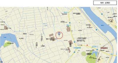【地図】福岡県中間市大字上底井野