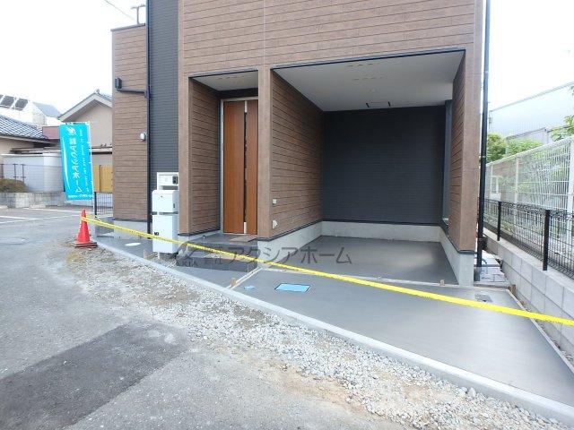 【駐車場】狭山市入間川2丁目・全1棟 新築一戸建 1号棟