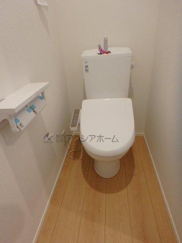 【トイレ】狭山市入間川2丁目・全1棟 新築一戸建 1号棟
