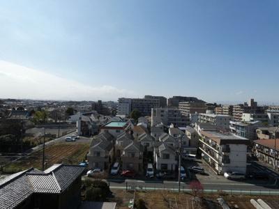 エクストール世田谷千歳 7階のお部屋からの眺めです