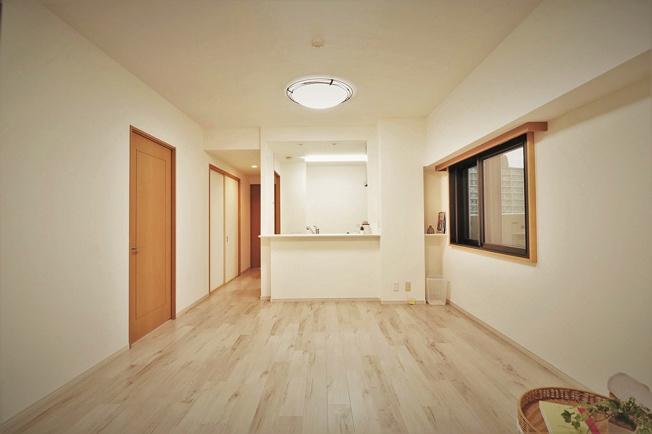 【居間・リビング】ファミール東加賀屋かがやきの街 608号