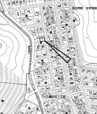 【区画図】佐伯区八幡が丘2
