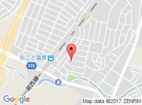 【地図】リビングタウン湖都が丘 B棟