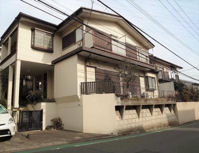 【外観】東急田園都市線「鷺沼」駅 建築条件なし 土地