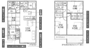 鴻巣市原馬室の新築戸建 全6区画 4号棟【No.40316】