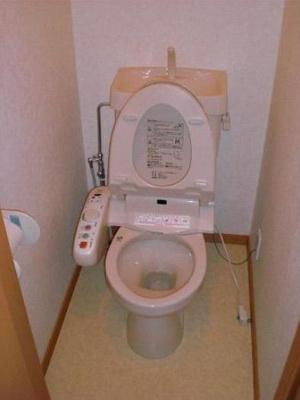 ウォシュレット付きトイレ☆