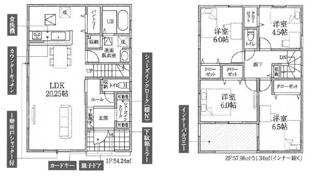 鴻巣市原馬室の新築戸建 全6区画 5号棟【No.40317】