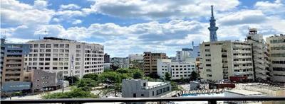 【外観】ドムール浅草 3階 角 部屋 リ ノベーション済